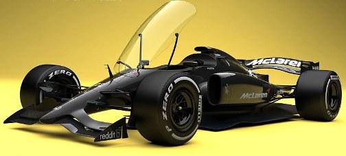 طراحی جدید اتومبیلهای فرمول1