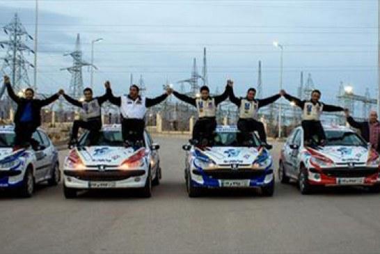دومین راند مسابقات رالی قهرمانی کشور در شاهرود پایان یافت