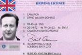 گواهی نامه رانندگی در انگلستان