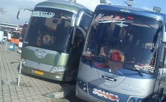 جریمه اتوبوس های ایرانی در ترکیه