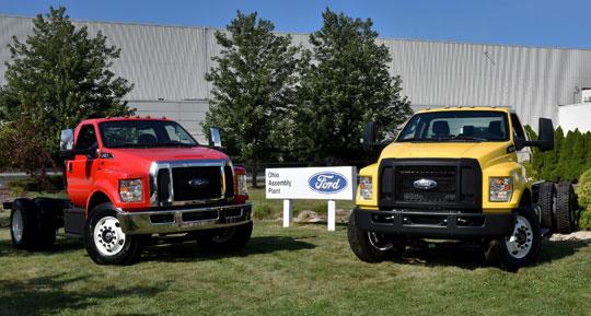 خط تولید کامیون های فورد به امریکا بازگشت