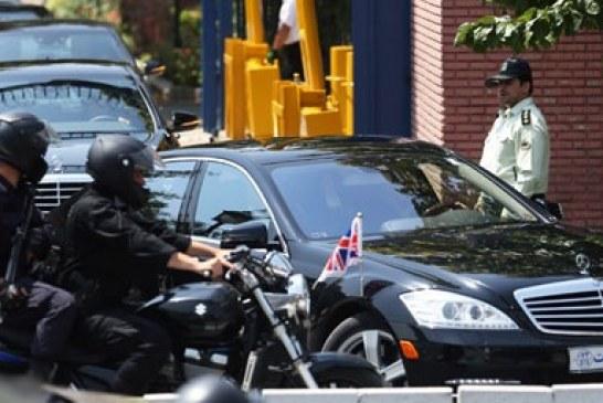 مرسدس بنز S-Class تشریفات وزیر امور خارجه انگلیس