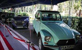 برگزاري نمايشگاه خودروهاي تيونينگ و کلاسيک در اردبيل