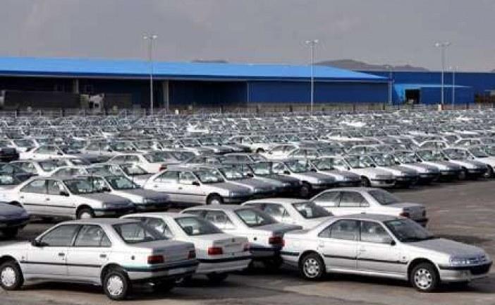 کاهش قیمت خودرو در ایران