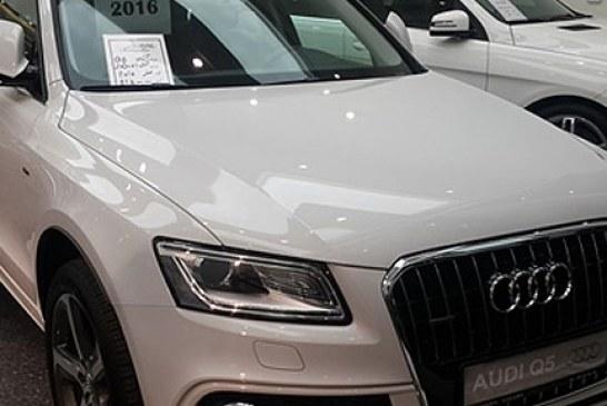 آئودی Q5 مدل ۲۰۱۶ در تهران