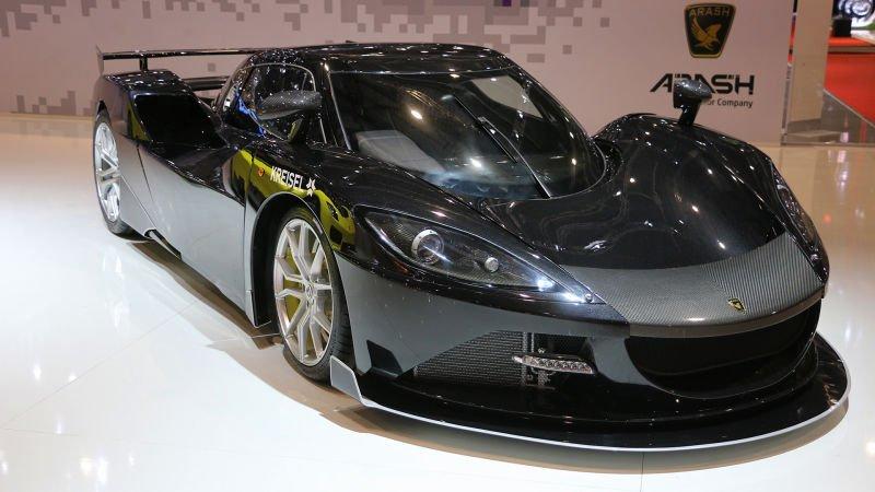 سریعترین خودروهای 2017