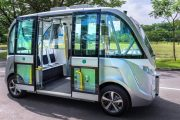 اتوبوس های بدون راننده در سنگاپور