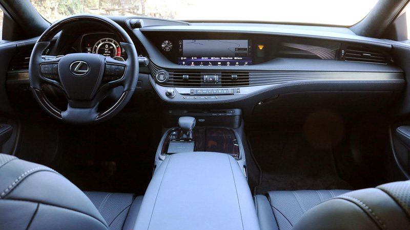 طراحی داخلی LS 500